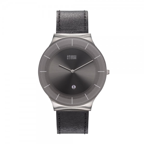XENU LEATHER GREY BLACK 47476/GY/BK