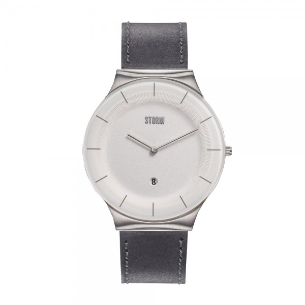 XENU LEATHER WHITE GREY 47476/W/GY