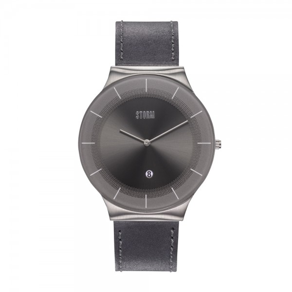 XENU LEATHER GREY GREY 47476/GY/GY